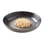 Isolated image of a plate of Encore chicken dog food jelly