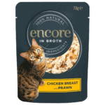 cat food pouch chicken with prawn