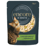 cat food pouch chicken with asparagus