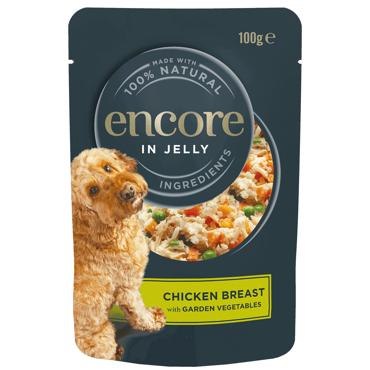 dog food pouch chicken with vegetables